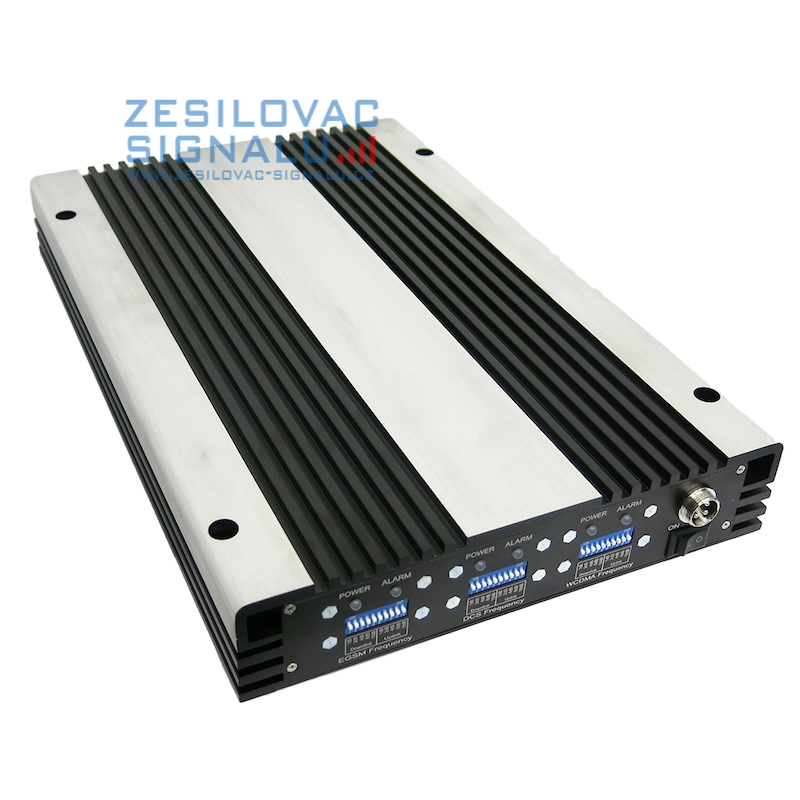 Zesilovač GSM signálu (repeater) SYN-LEW23-S (LTE800+EGSM+3G)